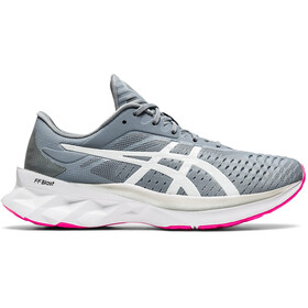 asics Novablast Schoenen Dames, sheet rock/white